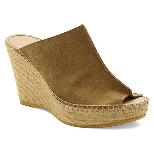 Andre Assous Vrouwen Cici Sleehak Camel Suede