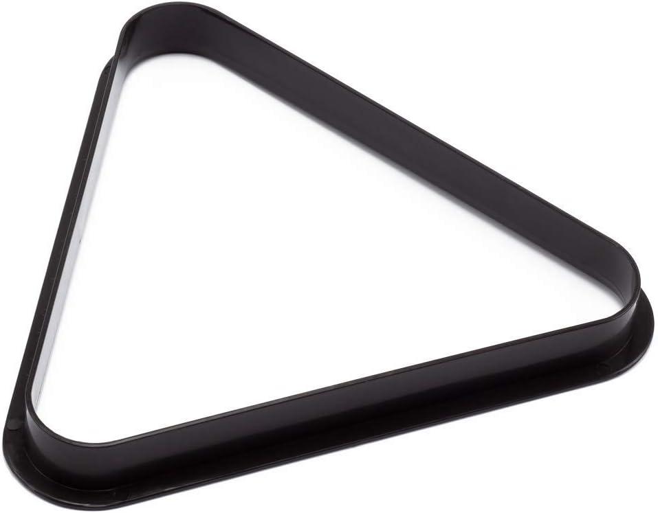 BILLARES Y DARDOS CAMARA Triángulo para Bolas de Billar Americano de plástico, tamaño Profesional para mesas de Billar