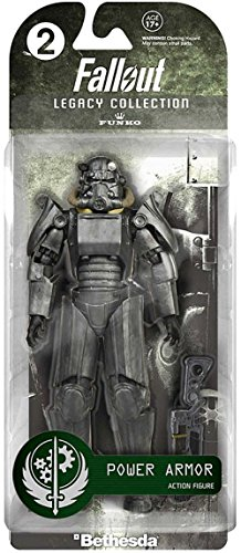 Brotherhood Of Steel Power Armor (Fallout Funko Legacy Action Power Armor Action Figure (Blister)