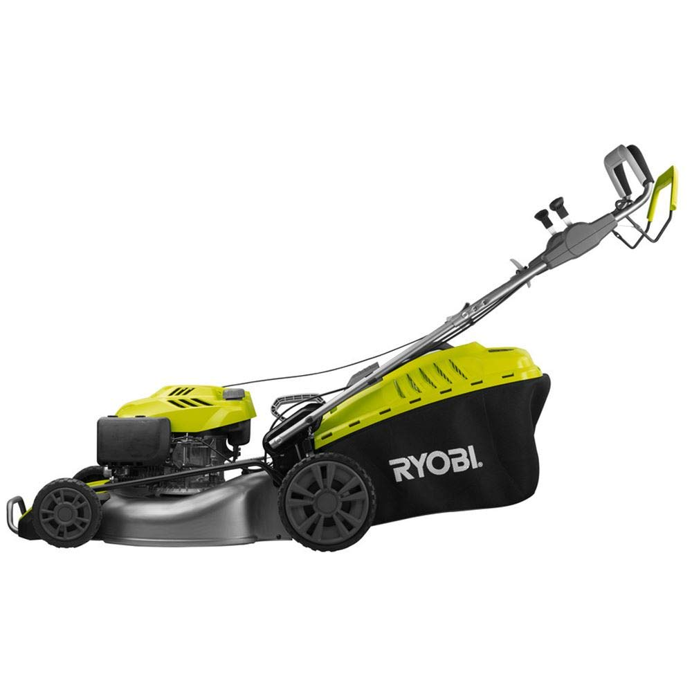 Ryobi RLM53S190SV - cortadora de césped de gasolina de 190cc ...