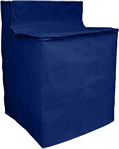 Washing Machine Cover Waterproof Heavyweight Zippered Blue