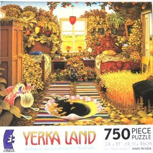 Yerka Land: Holiday Room - 750 Piece Jigsaw Puzzle