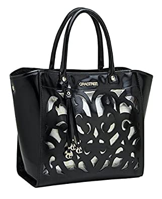 Crabtree Women's Handbags Leather One Size Black 3519 ...