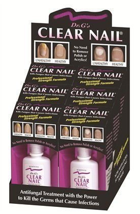 Dr G's Clear Nail Fungus Killer 0.6 oz (pack of 6) by Dr. G's by Dr. G's