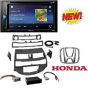 "Car Radio Stereo Install Dash Kit Harness Antenna for 2008-2012 Honda Accord With Pioneer AVH-200EX Car 6.2"" LCD USB DVD Bluetooth Stereo"