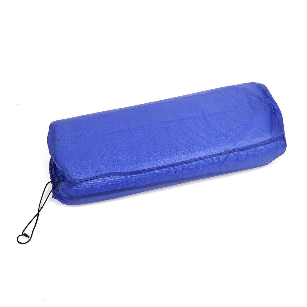 Beautyrain 1Pc Camping Mat Foldable Sleeping Mattress Moistureproof Pad Waterproof ABS Blue Outdoor Picnic Mat Forfar
