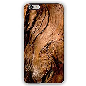 Weathered Barn Door Drift Burned Scorched Wood Pattern iPhone 6 Armor Phone Case
