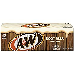 A&W Root Beer, 12 fl oz cans, 12 pack