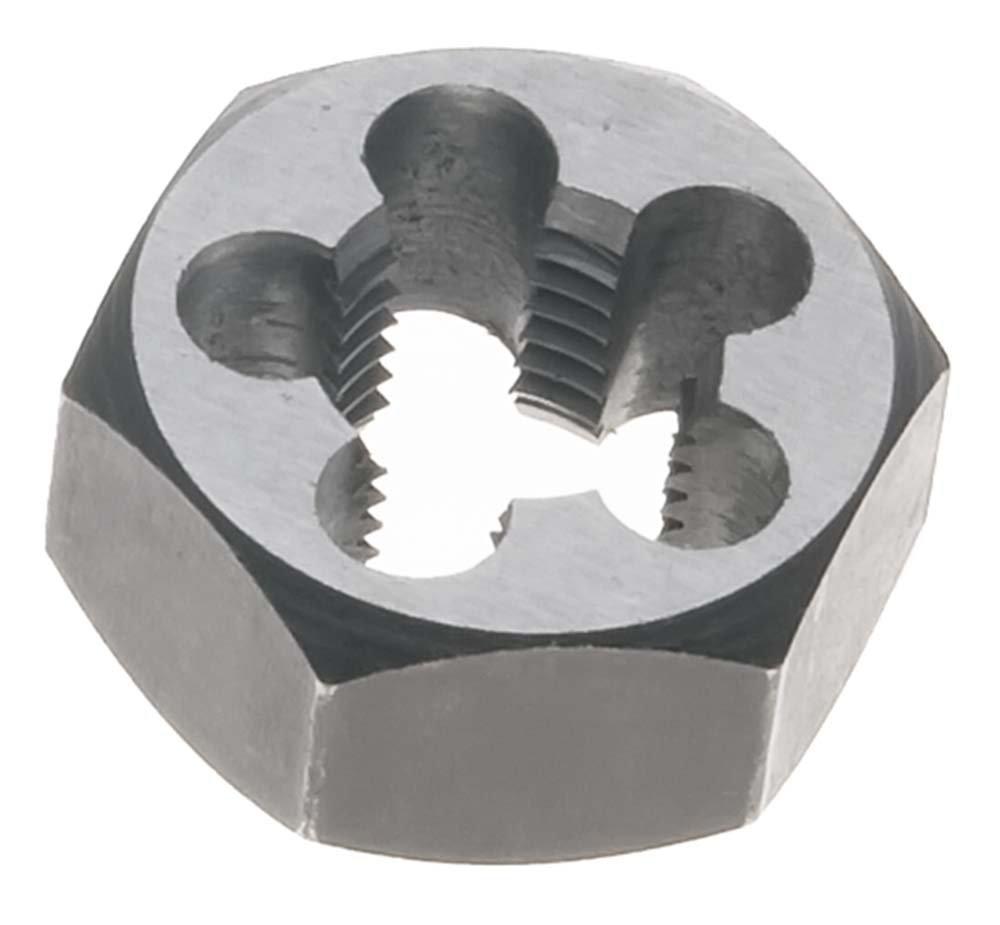 Carbon Steel 13mm x .75 Metric Hex Rethreading Die