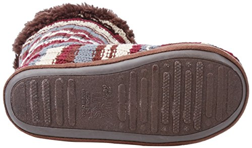 Muk Luks Donna Rosso Pantofola Gloria Rosso
