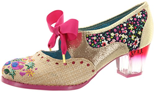 Poetic Licence Women's Court Shoes gold-pink ANnjxablK