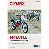 1979-1990 CLYMER HONDA MOTORCYCLE XL/XR 500-600 SERVICE MANUAL M339-8