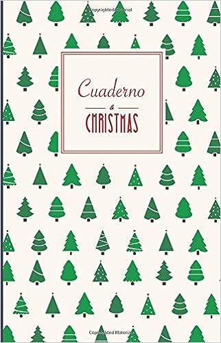 Buy Cuaderno Christmas. Arboles de Navidad: Malla De Puntos, Tapa ...