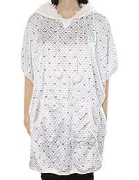 Womens Printed Hooded Sleep Shirt