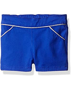 Baby Girls' Purple Short