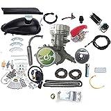 CDHpower 2 Stroke Silver Gas Bicycle Engine kit-Super PK80-66cc/80cc - Gas Motorized Bicycle