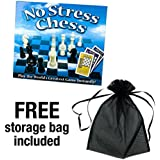 No Stress Chess, Learn to Play Chess Easily, Includes Free Storage Bag in Addition to Game.