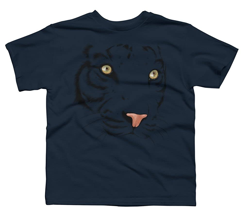 The Tiger Boys Youth Graphic T Shirt Design By Humans
