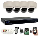 GW Security 8 Channel 5 Megapixel 5 in 1 DVR + 4 x HD-TVI 5MP 1920P Vari-Focal Zoom Outdoor/Indoor CCTV Dome Security Camera System with Pre-Installed 2TB Hard Drive Review