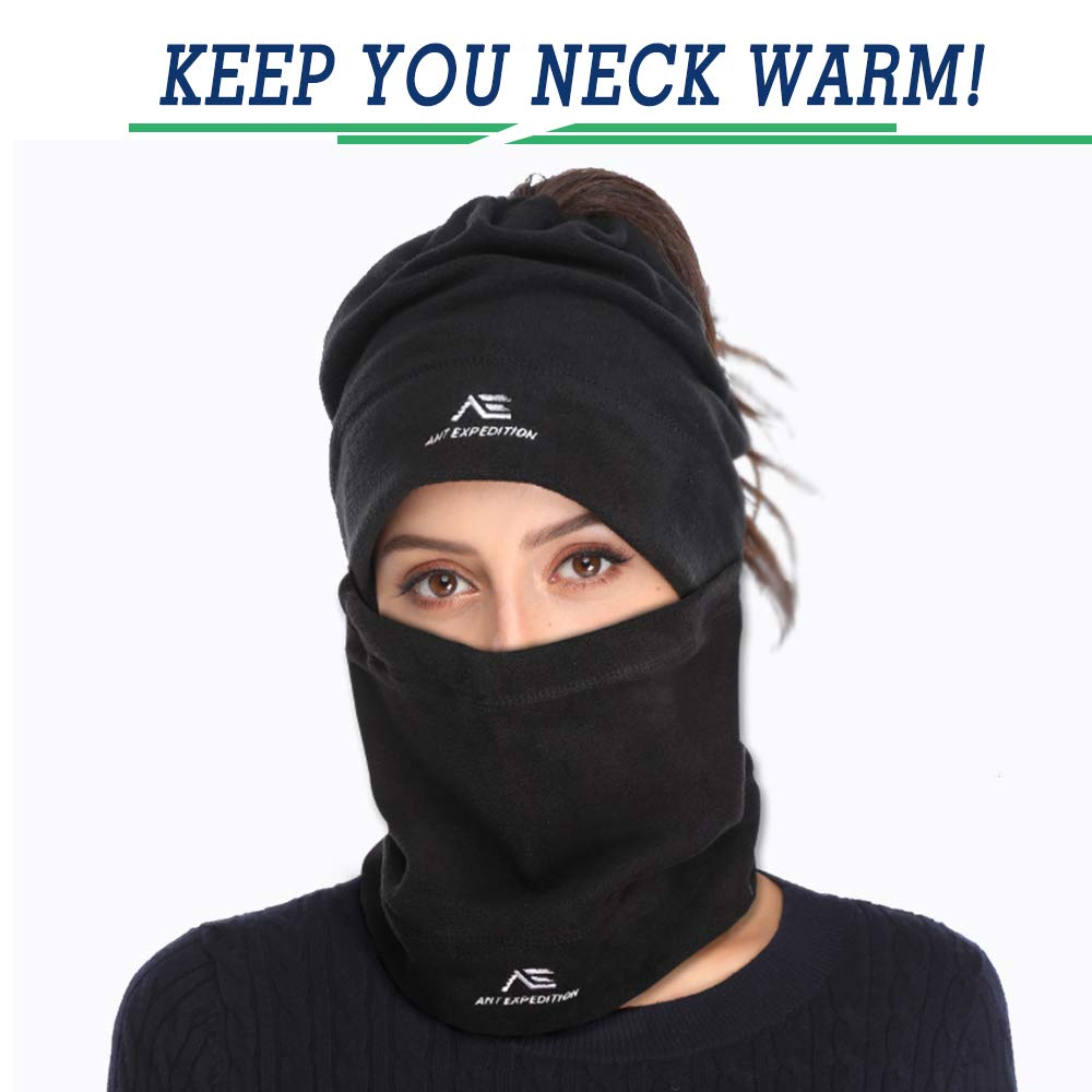 63a4aeebe76 ANT EXPEDITION 2 Pack Fleece Neck Warmer Gaiter Windproof Face Mask for Men  Women for Winter Ski Snowboard  1540998342-227462  -  13.42