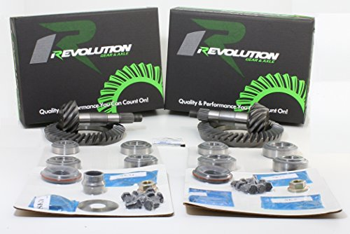Revolution Gear & Axle - JK Rubicon (D44/D44) 5.38 gear package front & rear with master overhaul (Precision Gear Master)