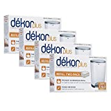 Diaper Dekor Plus Refills 2 Count,(Pack of 4)