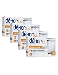 Diaper Dekor Plus Refills 2 Count,(Pack of 4) BOBEBE Online Baby Store From New York to Miami and Los Angeles