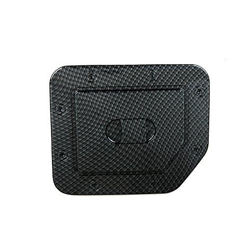 (EAG 04-15 Nissan Titan Gas Door Cover Black Carbon Fiber Look ABS(66-2705CF))
