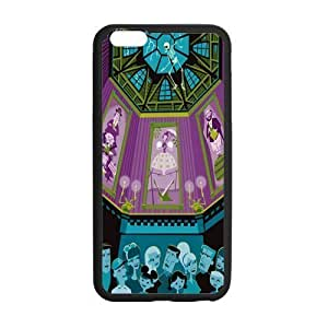 Customize TPU Gel Skin Case Cover for iphone 6+, iphone 6 plus Cover (5.5 inch), The Haunted Mansion
