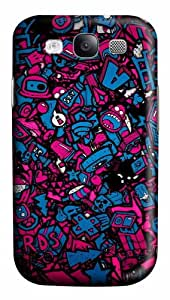Valentines Day Love PC Custom Design Case Cover for Samsung Galaxy S3 / SIII / I9300