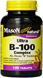 Mason Vitamins Ultra B-100 Complex Tablets, 100-Count Bottle