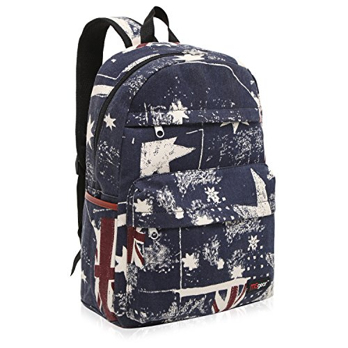 Retro Canvas School Backpack Fashion