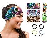 UROOMVIP Women Headband 5 Styles Pack Fashion Hairband for Yoga, Workout, Traveling