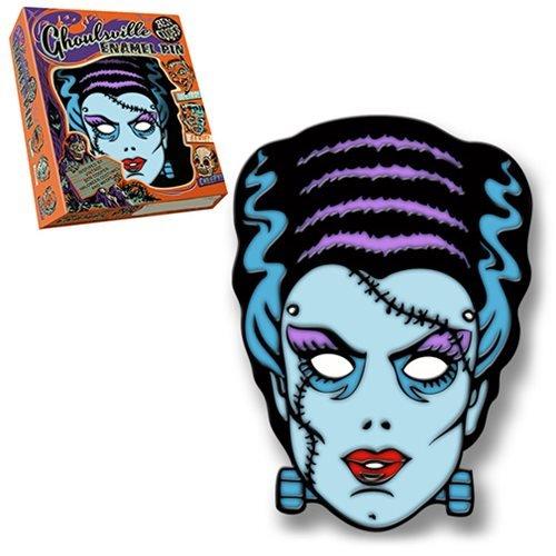 Retro-A-Go-Go Ben Cooper Ghoulsville Nightmare Bride Lapel Pin ()