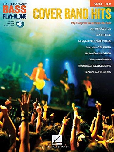 Cover Band Hits: Bass Play-Along Volume 32 (Hal Leonard Bass Play-Along)