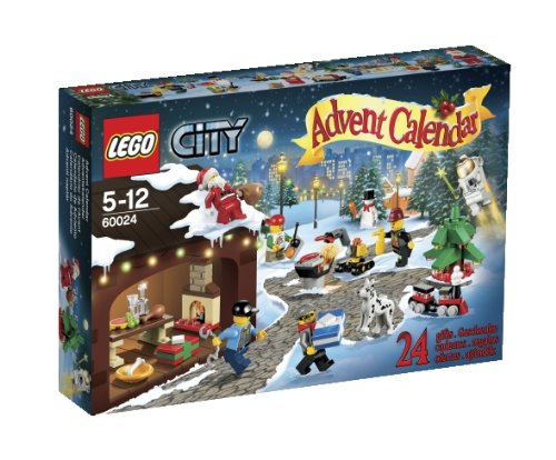 LEGO City Advent Calendar 60024 (Discontinued by - Shop Calendar Advent