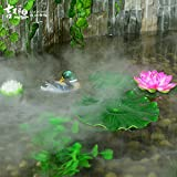 IMAGE 12 LED Mist Maker Fogger Water Fountain Pond