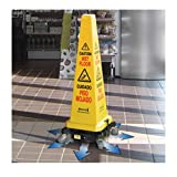 Hurricone Floor Dryer & Safety Cone Hurricone Floor Dryer, Yellow