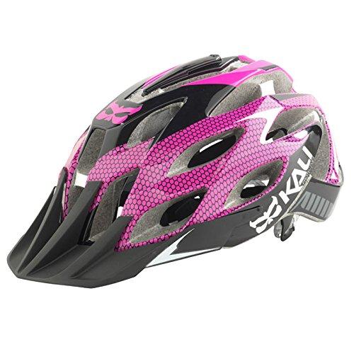 KALI Protectives Amara Helmet with Mount, Cobra Magenta, Small/Medium Review
