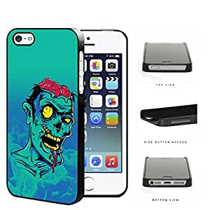 Extremely Bruised Zombie Cartoon Portrait Hard Plastic Snap On Cell Phone Case Apple iPhone 5 5s
