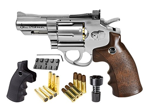 Dan Wesson CO2 BB Dual Ammo, Dual Grip Revolver Kit, 2.5'' air pistol by Dan Wesson