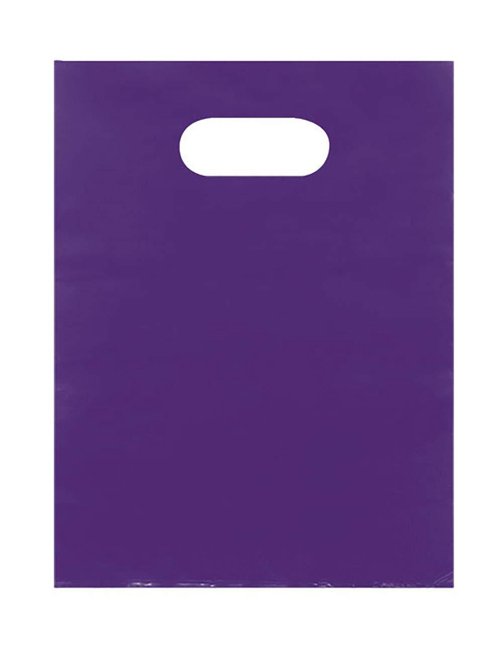Purple Merchandise Bags - Lightweight (9x12) - Pack of 1,000
