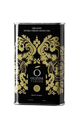 NEW HARVEST, VERY FRESH Organic Extra Virgin Olive Oil OLEUM VIRIDE, from Spanish National Park, unfiltered, directly from farmers (Difference Between Extra Virgin And Pure Olive Oil)