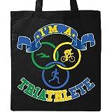 Inktastic - I'm A Triathlete Tote Bag Black 30132