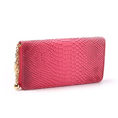 JD Million shop Fashion Design Brand Snake Long Wallet Simple Animal Female Card Purse Luxury PU Leather Purses - Brands Shop Luxury