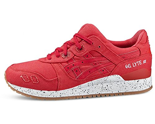 Red lyte Basses 2323 Gel Asics Rouge Baskets Adulte Iii Mixte classic classic Red z57Iq