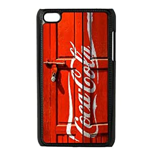 Personalized iPod Touch 4 Cover Case, Red London Telephone Box Kiosk Booth quote DIY Cell Phone Case