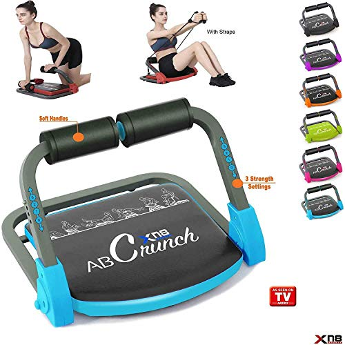 Xn8 Abs Core Fitness Trainer Exercise Machine for Smart Body Abdominal Workout Equipment AB Toning-Gym-Home- Easily…