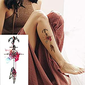 7pcs tatuajes baratos etiqueta engomada del cuerpo tatuaje ...
