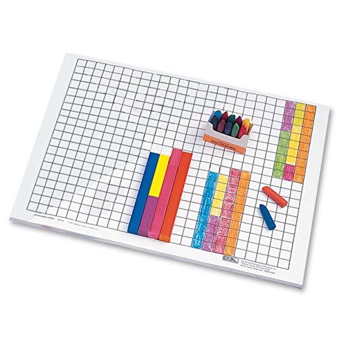 hand2mind Graph Paper, Pad of 50 Sheets